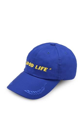 JTNC By Justin Chew black JTNC2 Good Life Cap 593E3ACBC978D9GS_1