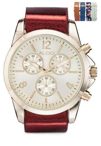 Cieclya 皮esprit 鞋革圓錶, 錶類, 女裝手錶