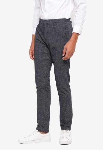 Selected Homme navy Novo Skinny Pants A25C5AA3130541GS_1