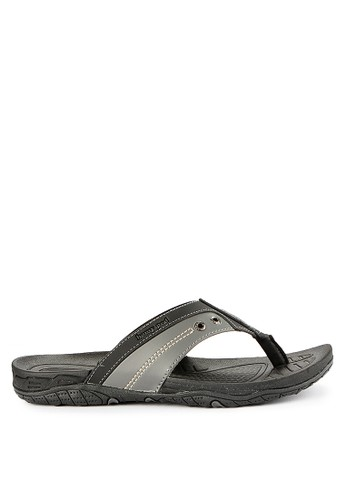 Homyped black Satya 01 Men Sandals 089A7SHB9EEC32GS_1