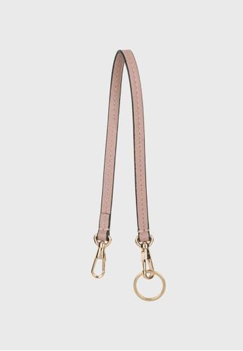 Tocco Toscano pink Lunar Leather Leash (Dusty Pink) 88B99AC953292BGS_1
