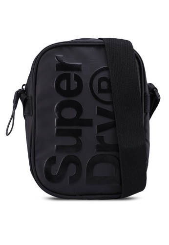 Superdry black Side Bag 5A8D2AC7596C47GS_1