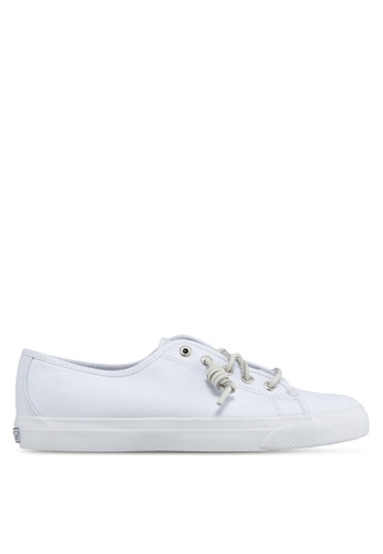 Sperry white Seacoast Core Canvas Sneakers SP921SH88AKHSG_1