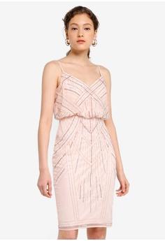 9becdebc3334c Lipsy pink Embellished Cami Dress C15C2AA96F543CGS_1