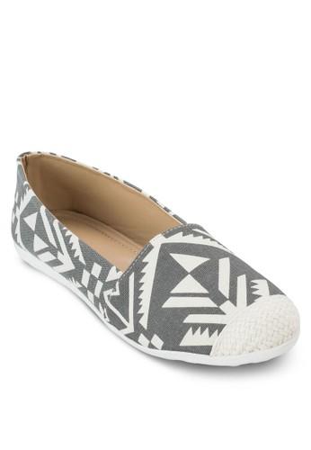 阿茲特esprit 價位克印花懶人鞋, 女鞋, 懶人鞋