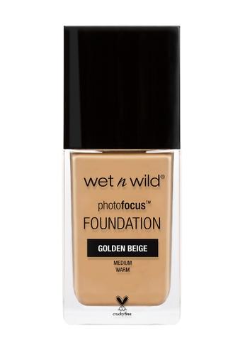Wet N Wild beige Photo Focus™ Foundation Golden Beige D00DEBE1F01150GS_1