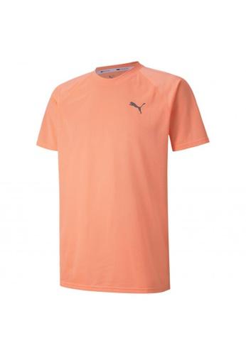 PUMA orange Short Sleeve Men's Tech Training Tee 56F29AA5370913GS_1