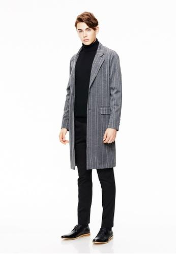 Life8 grey Formal Knit Coat-11131-Grey LI286AA0SC7KMY_1