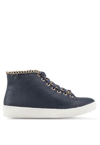 Carlton London 藍色 高筒運動鞋 5ACC3SH7C9B4A6GS_1