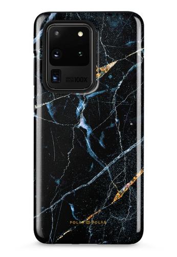Polar Polar black Midnight Marble Samsung Galaxy S20 Ultra 5G Dual-Layer Protective Phone Case (Glossy) A181DACA32378FGS_1