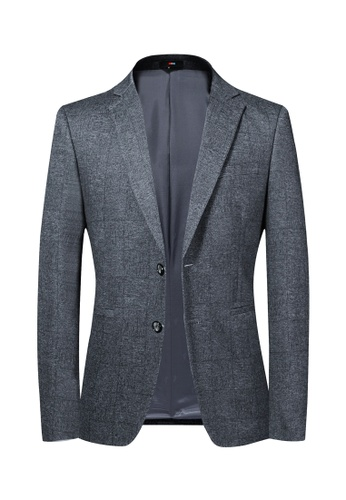 HAPPY FRIDAYS Slim Casual Suit Jacket 222 DB1E4AA76A1BF6GS_1