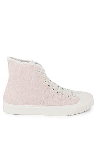 Onitsuka Tiger pink Ok Basketball Sneakers C633CSH53EE2DCGS_1