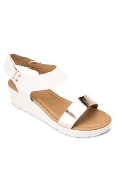 Donna Wedge Sandals