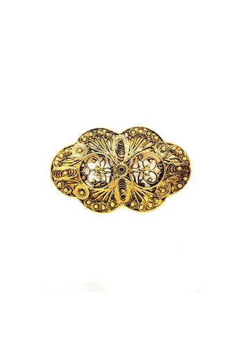 Paulini silver and gold Brooch Empress  (AG) PA011AC64XVBMY_1