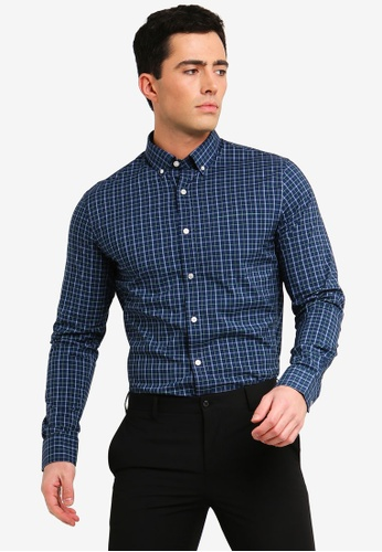 Buy Banana Republic Two Color Slim Fit Shirt Online on ZALORA Singapore eb2a214ee8169