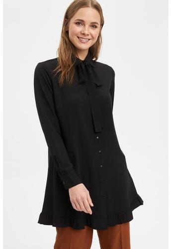 DeFacto black Long Sleeve Tunic 440E2AAE65367AGS_1