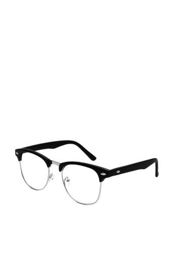 Kallisto black Henry in Matte Replaceable Lenses 585D2GLE20C5E6GS_1