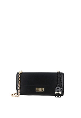 SEMBONIA black Blooming Lover Crossbody-To-Clutch Bag F1239ACC8EF207GS_1