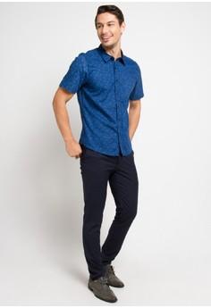 3724e3208ab 69% OFF BRITANIA Short Sleeve Print Shirt 8309 Rp 439.900 SEKARANG Rp  135.900 Ukuran S M L