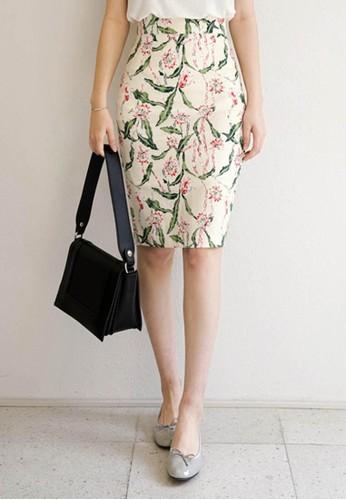 印花鉛筆中esprit門市裙, 服飾, 裙子