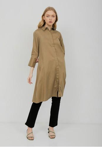 Shiny Shiny Salsa Olive dress 54-5219 E4110AA4CF0842GS_1