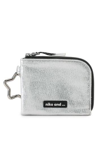 niko and ... grey Metallic Wallet 241C4AC182E7E1GS_1