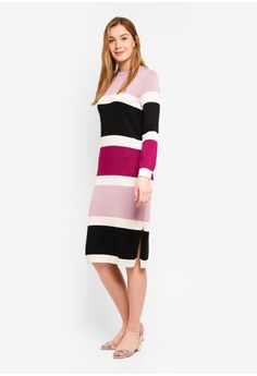 75% OFF LOST INK Stripe Colum Dress RM 219.00 NOW RM 54.90 Sizes 6 c56eabc03e