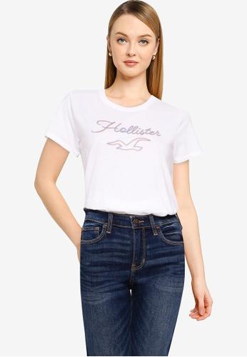 Hollister white Tech Core T-Shirt BA650AA01B531AGS_1