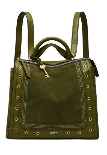 Fossil green Parker Backpack ZB1588376 E9368AC5B58C89GS_1