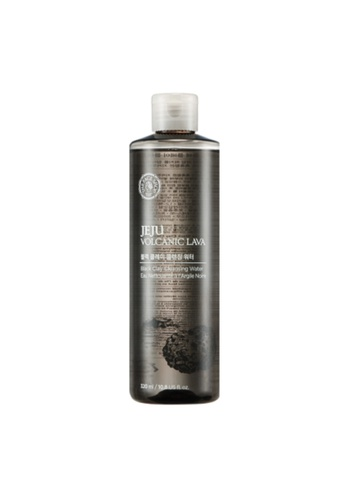 THE FACE SHOP Jeju Volcanic Lava Black Clay Cleansing Water 892E3BE6C707B6GS_1