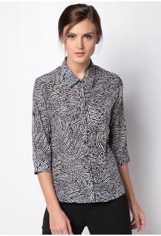 Mariz Quarter Sleeves Top