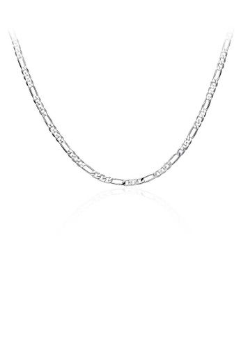 Glamorousky silver Simple Necklace For Men 1F00FAC58C656AGS_1