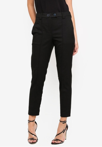 Vero Moda black Plain Ankle Pants 57BE3AA6EDAD81GS_1