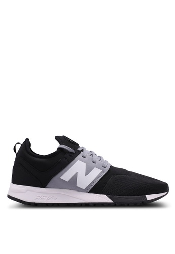 New Balance black and grey 247 Lifestyle Sneakers 38673SHF67FFABGS_1