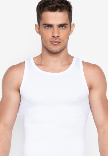 Ladies Thermal Underwear V Neck Spencer Sleeveless Vest Top White