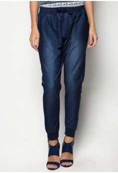 Knit Drawstring Jogger Pants