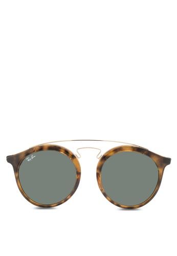 Ray-Ban Gatsby I RB4256 Sunglasses RA896GL90CYRMY_1