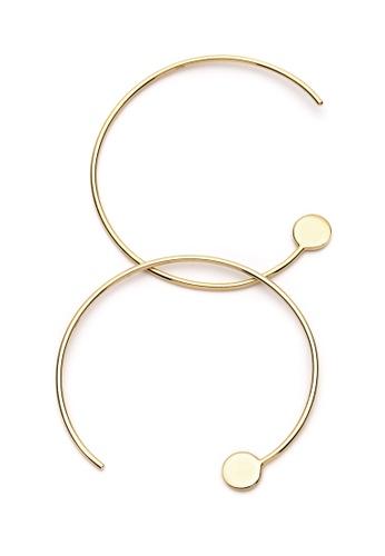 Pastiche gold Not Yet Light Earrings 69593AC2C4222FGS_1
