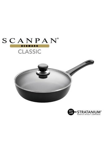 SCANPAN SCANPAN Classic 26cm Covered Saut? Pan F3CE1HLFCCD238GS_1