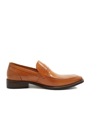 Kings Collection brown Danforth Classic Loafer KI358SH0GI2ESG_1