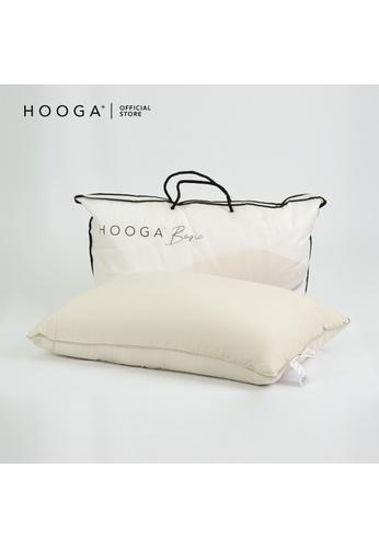 HOOGA beige Hooga Cotton Pillow Klein Ceiba. 19323HL634503AGS_1