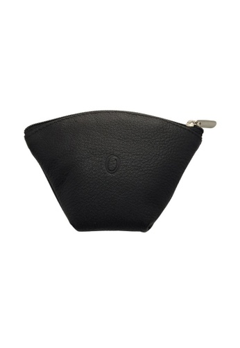 Oxhide black Oxhide Leather Coin Purse Black 1012 6496EACFE676F7GS_1