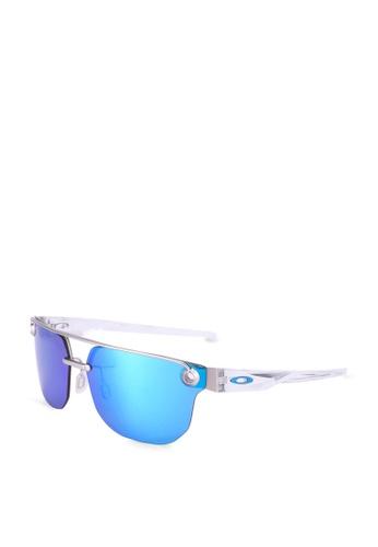 Oakley 多色 六角形太陽眼鏡 E17A3GL60C0059GS_1