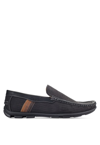 Louis Cuppers black Casual Loafers LO977SH04VOPMY_1