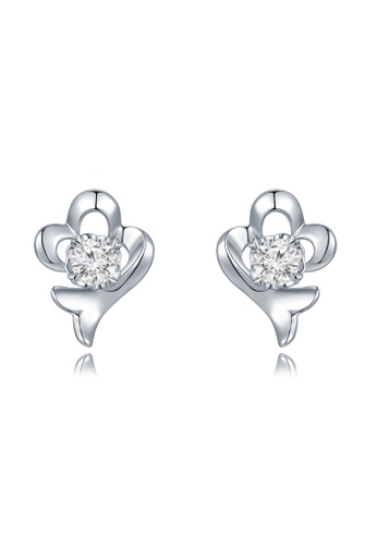 Buy Mabelle 18k750 White Gold Diamond Flower Earrings Online On