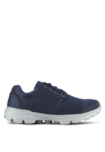 UniqTee blue Sport Mixed Sneakers UN097SH0RS4NMY_1