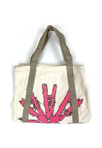 Akosée pink Akosée Beach Bag 8EFA7AC2992D1AGS_1