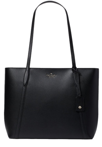 Kate Spade black Kate Spade Cara Large Tote Bag in Black 74F78AC109534FGS_1