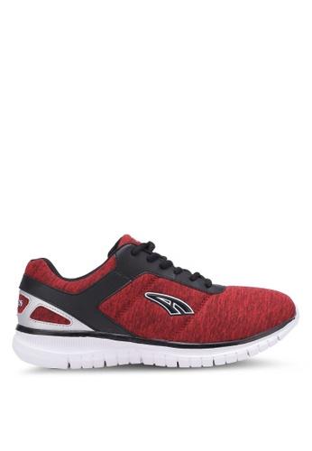 AMBROS red Ashford Sneakers AM821SH0S14JMY_1