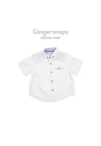 Gingersnaps white Gingersnaps Baby Wilderness Explorer Woven Shirt White 56E73KA9F26112GS_1